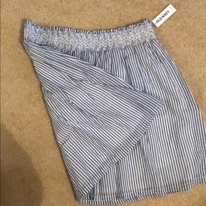 Blue and white skirt, new with tags on